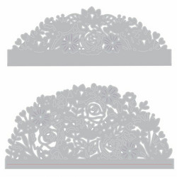 Sizzix Thinlits stanssisetti Floral Edges