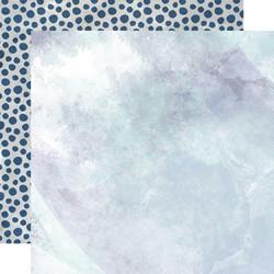 Kaisercraft Amethyst skräppipaperi Crystal