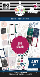 Mambi Happy Planner Value -tarrapakkaus Boho BIG