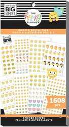 Mambi Happy Planner Value -tarrapakkaus Emoji & Social Talk