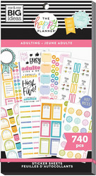 Mambi Happy Planner Value -tarrapakkaus Adulting