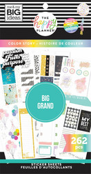 Mambi Happy Planner Value -tarrapakkaus Color Story BIG