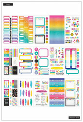 Mambi Happy Planner Value -tarrapakkaus Color Me Happy