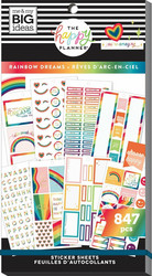 Mambi Happy Planner Value -tarrapakkaus Rainbow Dreams