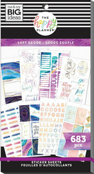 Mambi Happy Planner Value -tarrapakkaus Soft Modern Geode