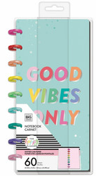 Mambi Skinny Classic Notebook -muistikirja, Good Vibes Only