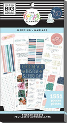 Mambi Happy Planner Value -tarrapakkaus Wedding