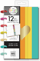 Mambi Mini Vertical Planner -kalenteri, Color Me Happy