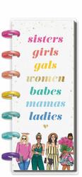 Mambi Skinny Mini Happy Planner -kalenteri, 12 kk, päivätty, Sisters, Rongrong