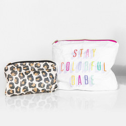 Mambi Flexible Pouch, Stay Colorful -pussukat, 2 kpl
