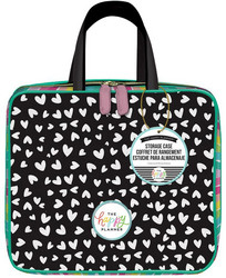 Mambi Happy Planner Storage Case -laukku, Scattered Hearts