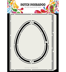 Dutch DooBaDoo Card Art Accordion Easter egg -sapluuna