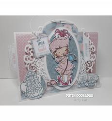 Dutch Doobadoo Card Art Stepper Label -sapluuna