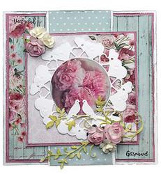 Joy! Crafts stanssi Love Pigeons