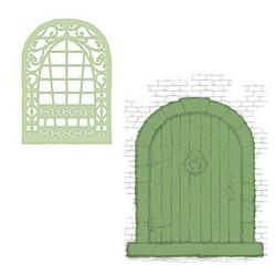 Heartfelt Creations French Doorway -stanssisetti