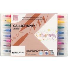 Zig Calligraphy -kynäsetti