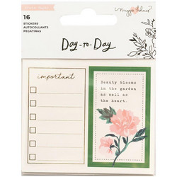 Crate Paper Maggie Holmes Day-To-Day Mini Sticker Book -tarrakirja