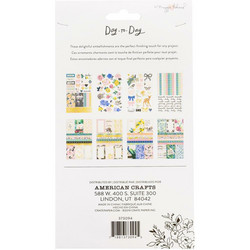 Crate Paper Maggie Holmes Day-To-Day Sticker Book -tarrakirja