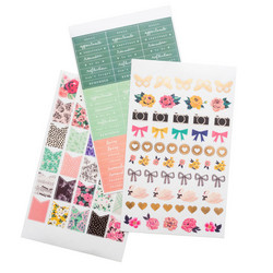 Crate Paper Maggie Holmes Day-To-Day Sticker Book -tarrakirja Phrase