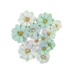 Prima Pretty Mosaic Mulberry paperikukat Jade