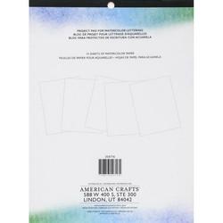 Kelly Creates Watercolor Brush Lettering Project Pad -paperipakkaus