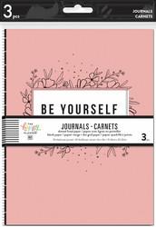 Mambi Journals -muistikirjat, 3 kpl, Modern Farmhouse