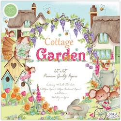 Craft Consortium Cottage Garden -paperipakkaus, 12