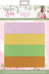 Sara Signature Garden Of Love Luxury Glitter Card -kartonkipakkaus