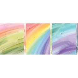 Pinkfresh Studio -washiteippi Rainbow With Splatters