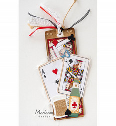 Marianne Design Punch Die Playing Cards -stanssi
