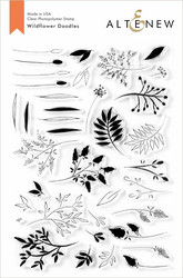 Altenew Wildflower Doodles -leimasinsetti