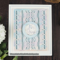 Creative Expressions stanssi Endless Options, Delilah Background