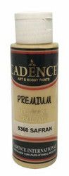 Cadence Premium Acrylic -akryylimaali, sävy Saffron, 70 ml