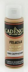 Cadence Premium Acrylic -akryylimaali, sävy Cappuchino, 70 ml
