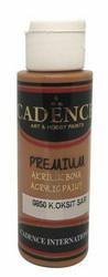 Cadence Premium Acrylic -akryylimaali, sävy Dark Oxide Yellow, 70 ml