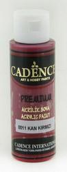 Cadence Premium Acrylic -akryylimaali, sävy Blood Red, 70 ml