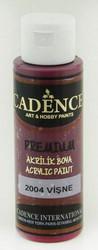 Cadence Premium Acrylic -akryylimaali, sävy Cherry 70 ml