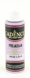Cadence Premium Acrylic -akryylimaali, sävy Lilac 70 ml