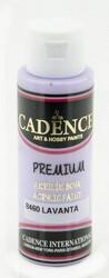 Cadence Premium Acrylic -akryylimaali, sävy Lavender 70 ml