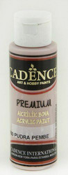 Cadence Premium Acrylic -akryylimaali, sävy Powder Pink, 70 ml