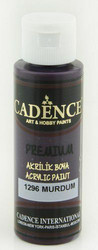 Cadence Premium Acrylic -akryylimaali, sävy Plum, 70 ml