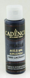 Cadence Premium Acrylic -akryylimaali, sävy Dark Blue, 70 ml
