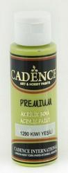 Cadence Premium Acrylic -akryylimaali, sävy Kiwi Green, 70 ml