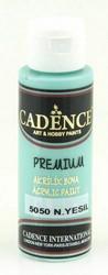 Cadence Premium Acrylic -akryylimaali, sävy Mint Green, 70 ml