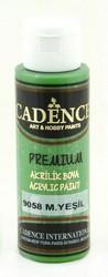 Cadence Premium Acrylic -akryylimaali, sävy Mystic Green, 70 ml