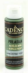 Cadence Premium Acrylic -akryylimaali, sävy Daphne Green, 70 ml