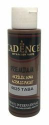 Cadence Premium Acrylic -akryylimaali, sävy Tan Brown, 70 ml