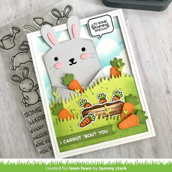 Lawn Fawn stanssisetti Spring Critter Huggers