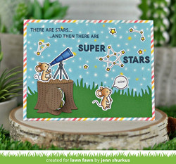 Lawn Fawn stanssisetti Lift The Flap Meadow