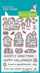 Lawn Fawn Spooky Village -stanssisetti